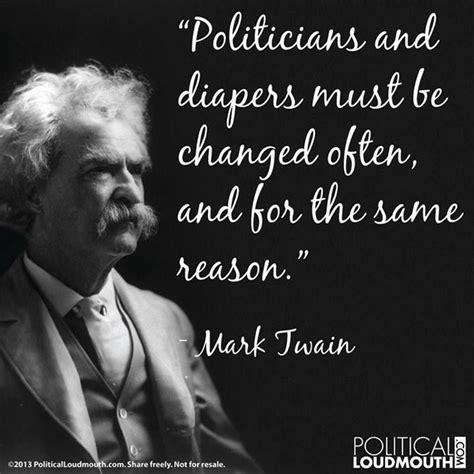 mark twain quotes  politicians quotesgram