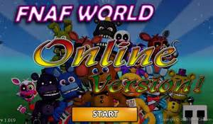 Fnaf world online play fnaf world update 2 free online