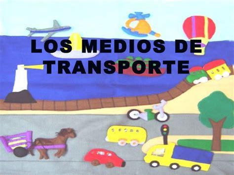 imagenes animadas medios de transporte los medios de transporte diapositivas