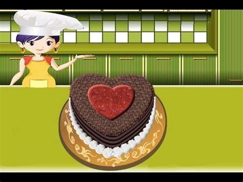 la selva de sara 8426348661 pastel de la selva negra juegos de cocina con sara youtube