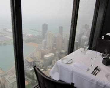 Signature Room Parking by Signature Room Restaurant Chicago Table By The Window