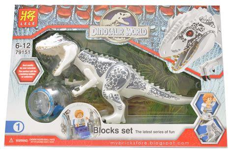 Lele Dinosaur World Jurassic World my brick store jurassic world lele 79151 indominus rex