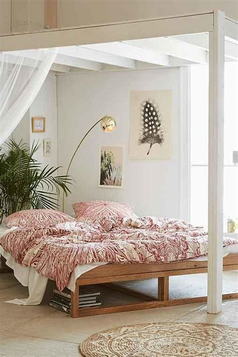 Dem Kid Khairu Tribal Navy Morey Platform Bed From Outfitters Saves