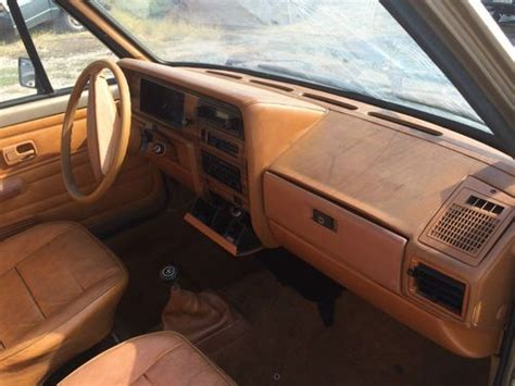 volkswagen rabbit truck interior vw caddy mk1 rabbit pickup interior tan