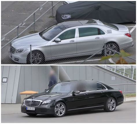 mercedes maybach s500 2018 mercedes maybach s class facelift spied trying to