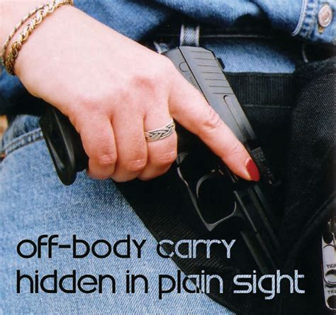 hidden in plain sight concealed carry on college cuses off body carry hidden in plain sight usconcealedcarry