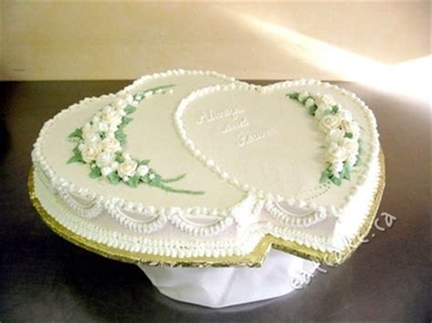 Double Heart Shaped Cake   Cakeworks' Blog