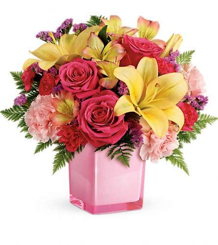 Teleflora Florist by Send Teleflora S Pop Of Bouquet In Baltimore Md