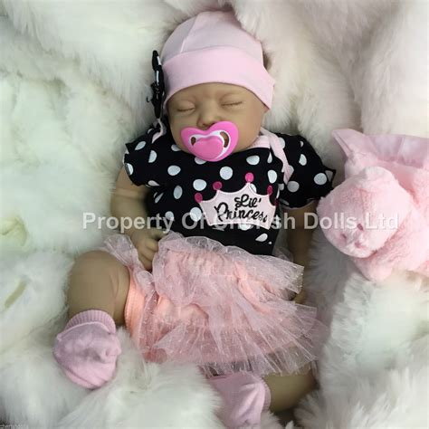 Reborn dolls cheap baby girl realistic 22 quot newborn real lifelike floppy head 163 150 00 picclick uk