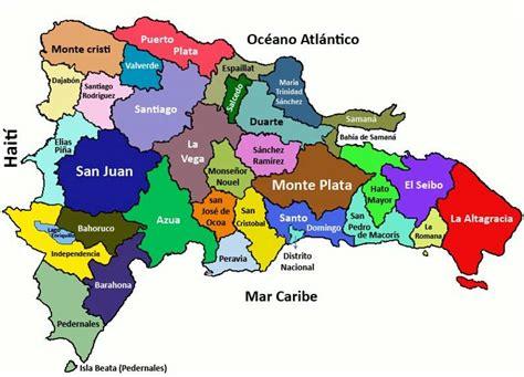 mapa de republica dominicana image gallery la republica dominicana