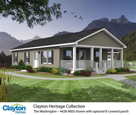mobile and modular homes photos the washington 4428 9003 81hnh28443ah clayton