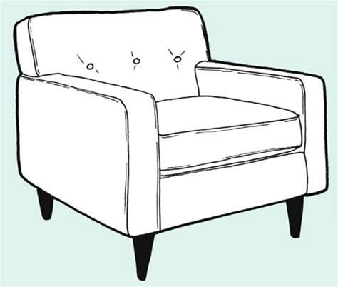 how to draw a armchair make a removeable chair or sofa cover life and style