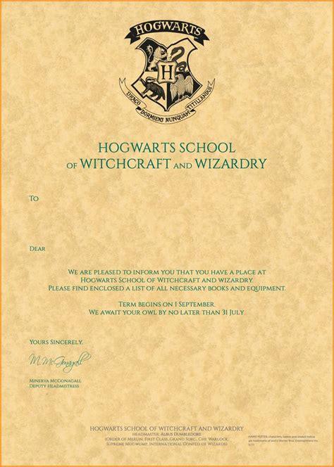harry potter hogwarts letter quote templates regard