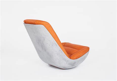 designboom rocking chair swing concrete rocking chair by paulsberg