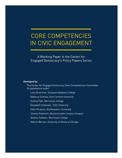 Civic Engagement College Essay by Competencies In Civic Engagement By Merrimack College Issuu