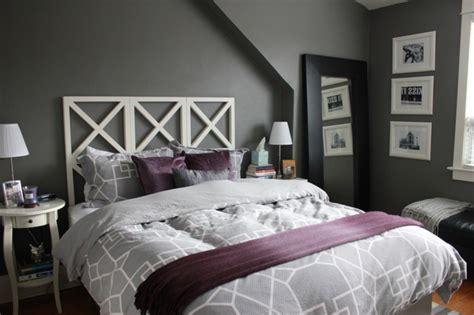 chambre noir gris la chambre grise 40 id 233 es pour la d 233 co archzine fr