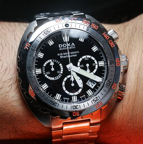 doxa sub 300t graph chronograph watches on