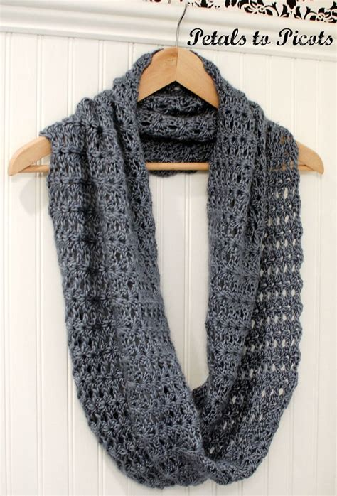 crochet pattern infinity scarf easy infinity scarf crochet pattern for beginners crochet and