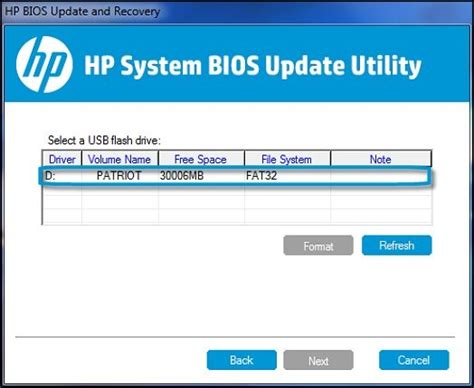 format file bios hp notebook pcs restoring the bios hp 174 customer support