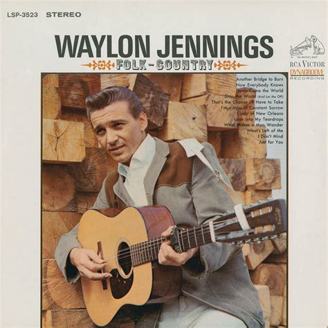 country albums waylon folk country 1966 2016 acousticsounds
