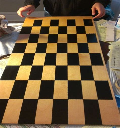 diy chess board 6 diy chess board home harmonizing