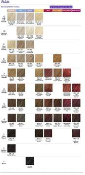 ion color brilliance chart ion color brilliance results chart brown hairs