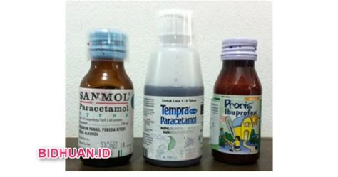 Sanmol Syrup Penurun Panas proris syrup sanmol dan tempra untuk obat penurun panas