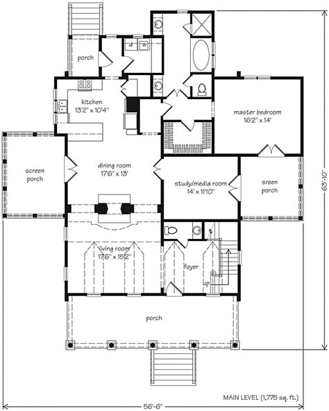southern floor plans st phillips place watermark coastal homes llc southern living house plans