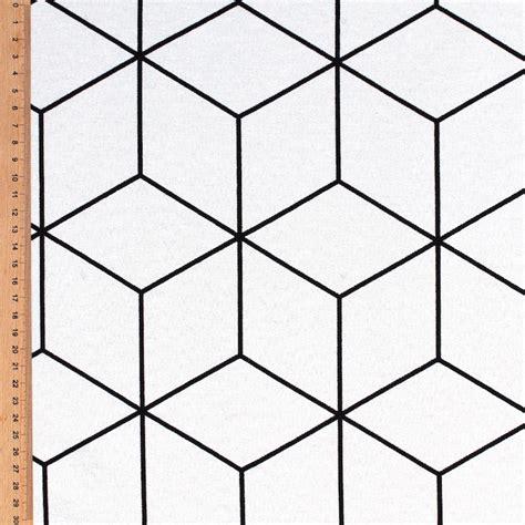 cv design noir et blanc tissu d ameublement 224 motif g 233 om 233 trique noir et blanc
