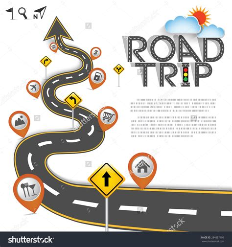 map a road trip road trip map clipart clipground