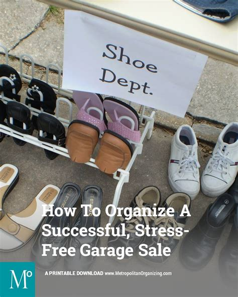professional garage sale organizers how to organize a successful stress free garage sale