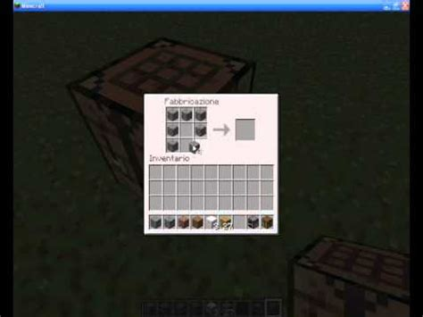 Minecraft Banco Da Lavoro - come craftare il tavolo da lavoro la