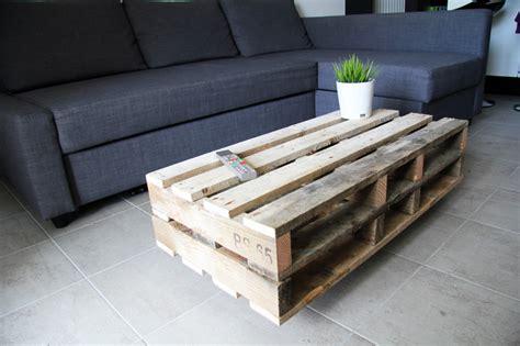 Charmant Fabriquer Table Basse Ronde #3: Table-basse-palette-bois-brute.jpg?257d51