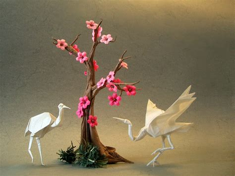 Origami Paper Works - simply creative origami works of yoshizawa