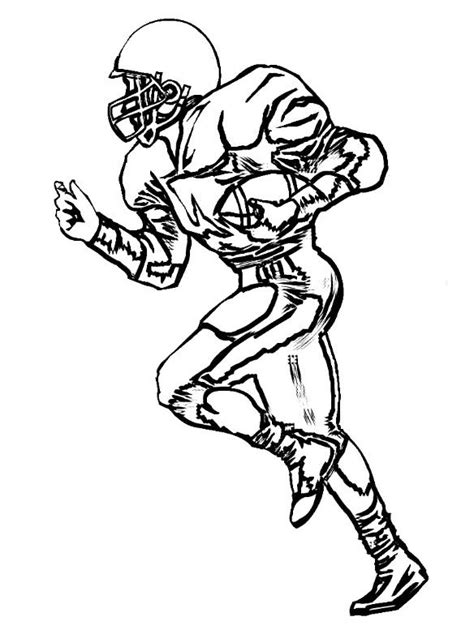 coloring pages of football stuff wide receiver football coloring pages football coloring