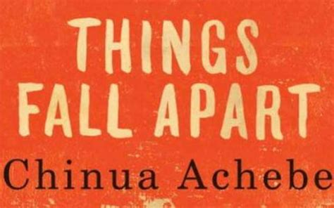 the one apart a novel books about things fall apart