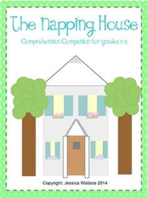 printable napping house the napping house sleeping words retelling by