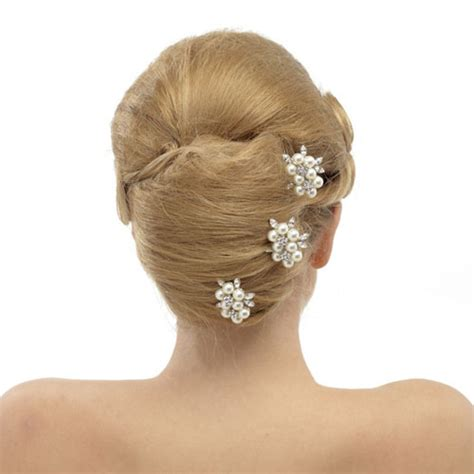 Vintage Bridal Hair Pins Uk by Vintage Wedding Hair Pins Blossom Zaphira Bridal