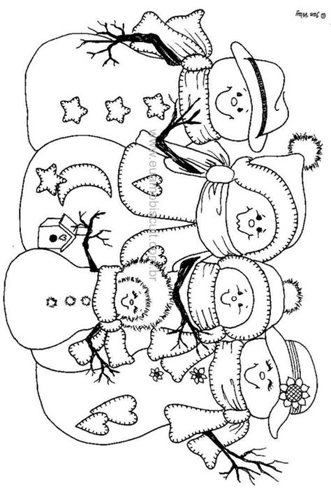 cute snowman coloring pages pin by kathy parks on redwork and embroidery pinterest