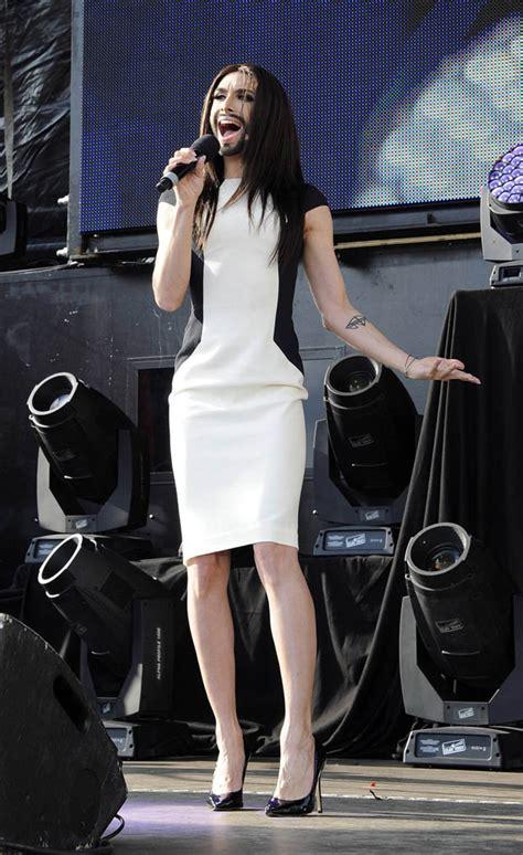 Rise Dress Clory eurovision conchita wurst teams k s curve