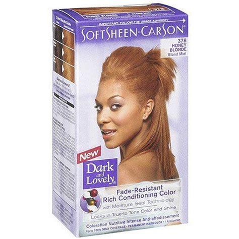 best over the counter hair dye for honey blonde softsheen carson dark lovely permanent haircolor honey