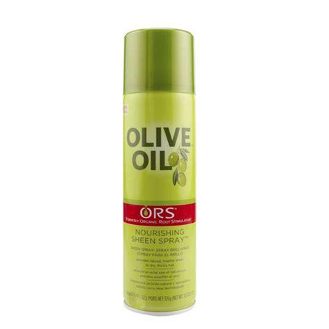 Olive Hair Shoo ors olive nourishing sheen spray 11 7oz hairmall ca