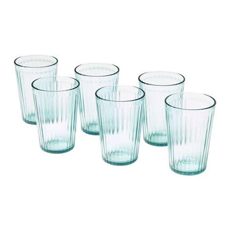 ikea bicchieri vetro kallna glas ikea