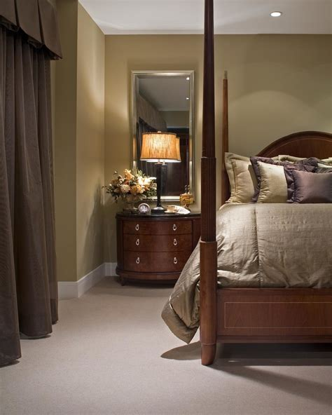 bedroom nightstand ideas delightful mirrored nightstand decorating ideas