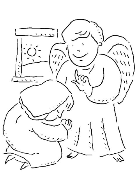 free coloring pages angel and mary gabriel and mary coloring pages coloring page