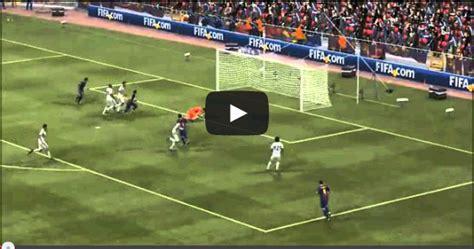 barcelona news goal com neymar first goal in fc barcelona 2013 2014 fc barcelona