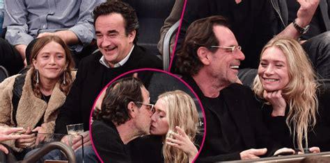 ashley olsens boyfriend is even older than mary kates on to the next ashley olsen kisses much older boyfriend