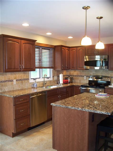 Kitchen Countertops Syracuse Ny by All Aspects Of This Kitchen Were Updated From The Stained