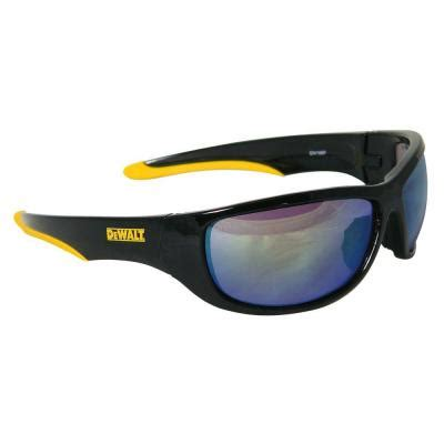 dewalt safety glasses dominator with yellow mirror lens