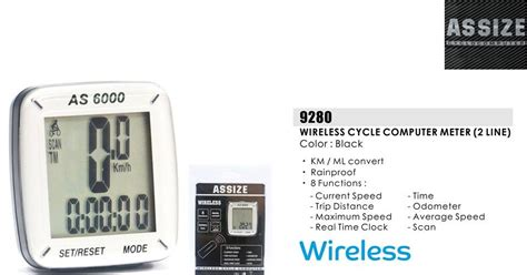 Meter Basikal Choo Ho Leong Chl Bicycle Assize Wireless Cycle